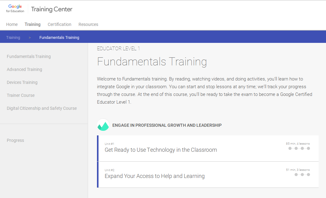 PD THAT WORKS: BECOME A GOOGLE CERTIFIED EDUCATOR - What would a ...